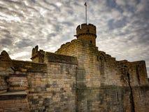Historia de la arquitectura de Inglaterra del castillo de Lincoln medieval Foto de archivo