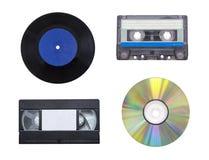 Historia de la grabación de sonidos foto de archivo libre de regalías