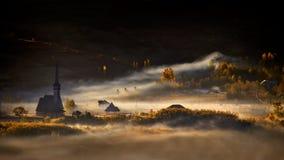 Historia de la mañana del otoño Imagen de archivo libre de regalías