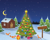 Historia de la Navidad fotografía de archivo libre de regalías