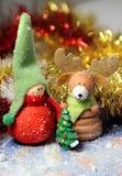 Historia de la Navidad Foto de archivo
