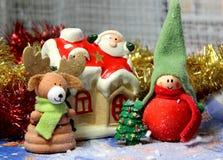 Historia de la Navidad Foto de archivo libre de regalías