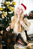 Historia de la Navidad Imagen de archivo libre de regalías