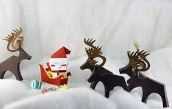 Historia de la Navidad Imagenes de archivo