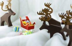 Historia de la Navidad Fotografía de archivo