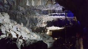 Historia de la piedra de la roca de Yorkshire de la cueva Fotos de archivo libres de regalías