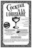Historia de las libaciones o de los cócteles de New Orleans Foto de archivo libre de regalías