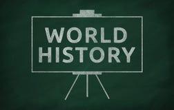 Historia de mundo imagenes de archivo