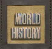 Historia de mundo enmarcada imágenes de archivo libres de regalías