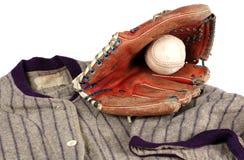 Historia del béisbol Imágenes de archivo libres de regalías