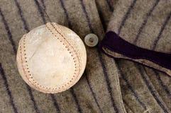 Historia del béisbol Foto de archivo libre de regalías