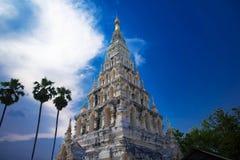 Historia del budismo de las antigüedades del templo foto de archivo