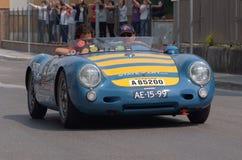 Historia del coche Imagen de archivo libre de regalías