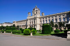 Historia del museo de arte, Viena Fotos de archivo