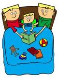 Historia del tiempo de la cama libre illustration