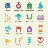 Historia elementy royalty ilustracja