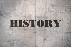 Historia för enkelt ord fotografering för bildbyråer