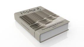 Historia för Hardcoverbok med illustrationen på räkningen royaltyfri illustrationer