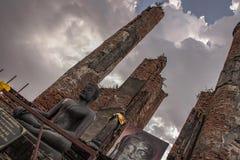 Historia i Antyczne cywilizacje w Ayutthaya okresie zdjęcia stock