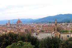 Historia, konst och kultur av staden av Florence - Italien 001 Arkivfoton