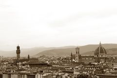 Historia, konst och kultur av staden av Florence - Italien 002 Fotografering för Bildbyråer