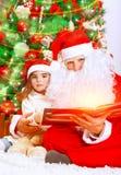 Historia mágica de la Navidad Fotos de archivo libres de regalías