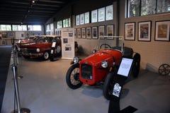 Historia Motorsport pokaz pokazuje początek Motorowy sport Zdjęcia Stock