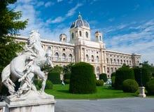 historia muzealny naturalny Vienna fotografia stock