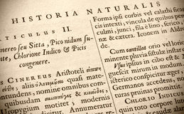 Historia Naturalis Stock Images