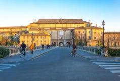 Historia Parma i piękno fotografia stock
