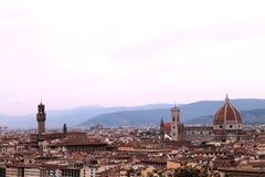 Historia, sztuka i kultura miasto, Florencja, Włochy - 002 Obrazy Royalty Free