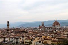 Historia, sztuka i kultura miasto, Florencja, Włochy - 004 Obrazy Royalty Free