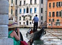 Historia veneciana Fotografía de archivo libre de regalías