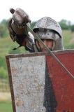 Historia viva medieval Foto de archivo libre de regalías