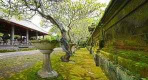 historial ναός της Ινδονησίας κήπων του Μπαλί Στοκ Εικόνες