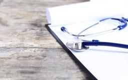 historial médico Foto de archivo libre de regalías