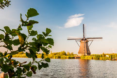 Historians Dutch windmills Royalty Free Stock Image