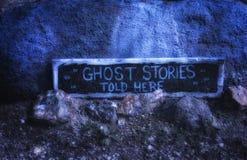 Historias de fantasma Imagen de archivo libre de regalías