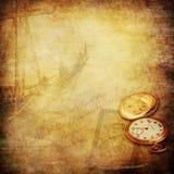 Historias del marinero y viejo fondo de la nostalgia de las épocas libre illustration