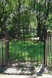 Historic范Sicklen Family公墓在布鲁克林,纽约 免版税图库摄影