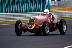 Historic 1935 Alfa-Romeo racing car at speed Stock Images