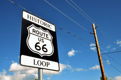 Historic 66 Route Royalty Free Stock Photography