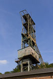 Historic abandoned Landek coal mine tower Royalty Free Stock Images