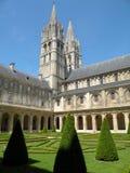 Historic Abbaye de Hommes  Stock Photography