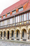 Historic abbey in Halberstadt. Historic abbey of the cathedral in Halberstadt, Germany Royalty Free Stock Photos