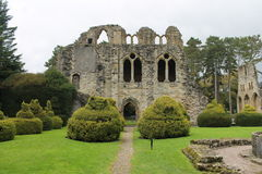 Historic abbey ruins. Historic Cistercian abbey ruins in England UK Stock Photography