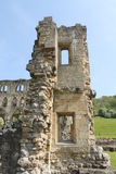 Historic abbey ruins wall. Historic Cistercian abbey ruins in England UK Stock Photography