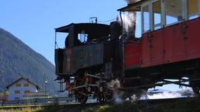 Historic Achensee Steam Cog Railway. Tyrol, Austria, Europe stock video footage