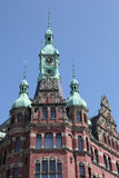 Historic administration building in Hamburg Stock Image