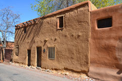 Historic adobe house Stock Images